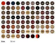 loreal colours chart: Loreal majirel ash blonde buscar con google loreal hair color