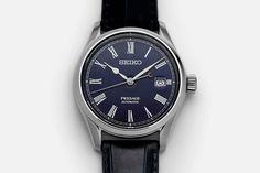 Seiko Presage Blue Enamel Limited Edition