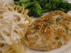 Red Lobster's Parmesan Crusted Talapia