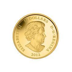 Queen Elisabeth ist auf der Rückseite der Drachen-Goldmünzen, hier die 1oz-Rückseite | goldankauf-haeger.de