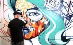 Mostra de grafite em São Paulo