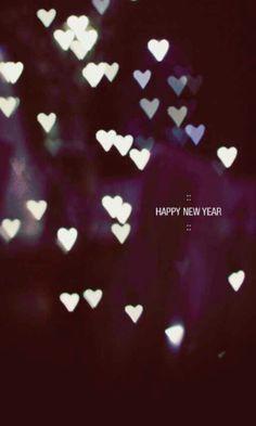 Año nuevo con ♡♡♡.