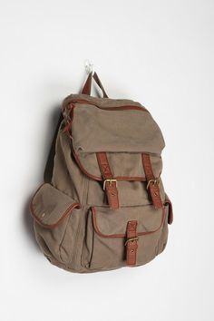Urban Outfitters - Ecote Solid Canvas Backpack  49 Canvas Backpack 55536f817bc76