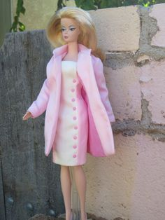 Peony Blossom coat and dress for Silkstone Barbie by WoveninTime