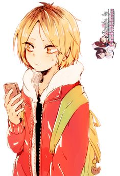 Render: Haikyuu! - Kozume Kenma by Panelletdelimon on DeviantArt - Kenma - This guy. I love.
