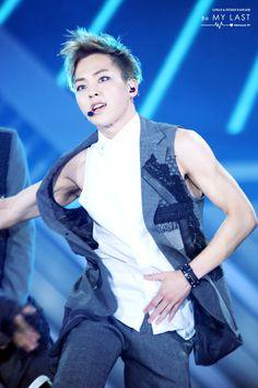 140607 EXO @ Dream Concert 2014 - Xiumin