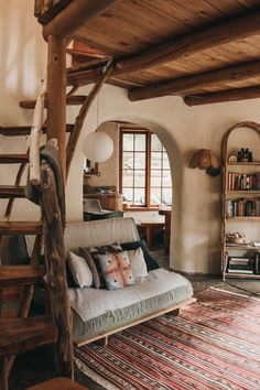 Earthship Home, Earth Homes, Cozy House, My Dream Home, Future House, Building A House, Green Building, Room Inspiration, Interior Design