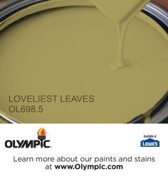 LOVELIEST LEAVES OL698.5 is a part of the greens collection by Olympic® Paint.