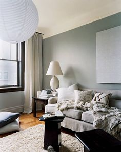 See more images from small apartment decorating idea: let in maximum light on domino.com