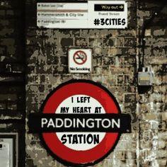 I left my heart at Paddington Station - #3cities