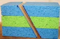Full lesson on spong fault models: Students will be able to: Use foam models to demonstrate the forces and relative motions of a block of rock to form of anticlines and synclines; use foam models to demonstrate the forces and relative motions acting on blocks of rock to form normal, reverse and strike-slip faults; use evidence to support or refute the claim made in an argument.