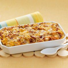 This one-dish brunch casserole is ideal for a crowd. Add a fruit salad and you can sit back and enjoy your company.