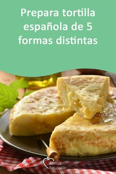 Surprise your guests with five variants of the Spanish omelette that no one will know how to prepare better than you. Learn the step by step here. Egg Recipes, Mexican Food Recipes, Gourmet Recipes, Cooking Recipes, Tortilla Recipes, Vegetarian Cooking, Vegetarian Recipes, Spanish Omelette, Spanish Dishes