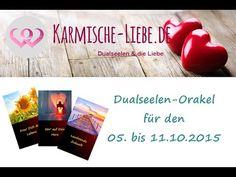 Dualseelen-Orakel für den 05. bis 11.10.2015 ♥ | Karmische-Liebe.de