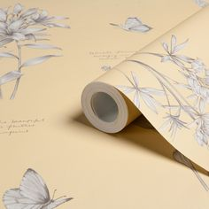 Linnaeus Wheat Wallpaper | Departments | DIY at B&Q