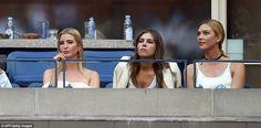 Ivanka Trump  Dasha Zhukova & Karlie Kloss.  US open