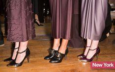 Top Fashion Trends Shoes 2014 | Fall 2014 Fashion Week Shoes: Jason Wu's Ladylike T-Strap Heels