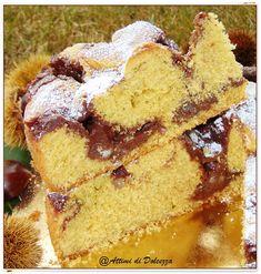 TORTA CON CREMA DI MARRONI E CIOCCOLATO / CAKE WHIT CHESTNUT AND CHOCOLATE CREAM