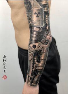 e1ac93db1 tatto Cyborg Tattoo, Robot Tattoo, Gear Tattoo, Biomechanical Tattoo,  Robotic Arm Tattoo