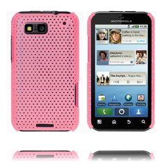 Atomic (Pink) Motorola Defy Cover