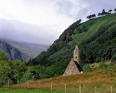 Chapel Of Saint Kevin At Glendalough, County Wicklow, Ireland