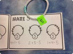 Number Comb Booklets** for number bracelets