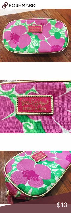 Lilly Pulitzer makeup bag Lilly Pulitzer for Estée Lauder. Brand new. Never used. Makeup bag. Lilly Pulitzer Bags Cosmetic Bags & Cases