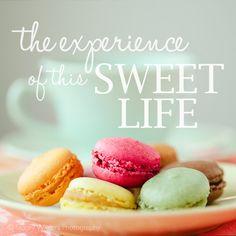 sweet life . mini print. via Etsy.