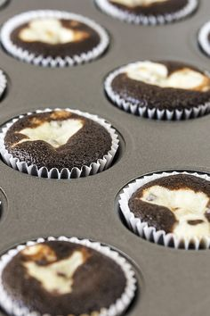 Black and White Cupcakes Recipe