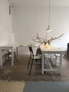 Open, bright dining/sitting room.