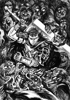 Gatsu from Berserk by Arju01 on DeviantArt