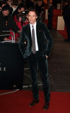 Eddie Redmayne in Burberry Prorsum