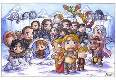 Game of Thrones Winter is Coming by AgnesGarbowska