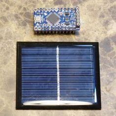 A Solar Powered Arduino Pro Mini
