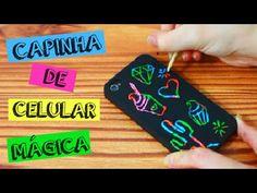 Como fazer CAPINHA MÁGICA de Celular - DIY- Faça você mesmo - YouTube