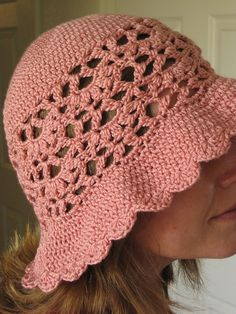 They'll be roses sun hat. Free pattern