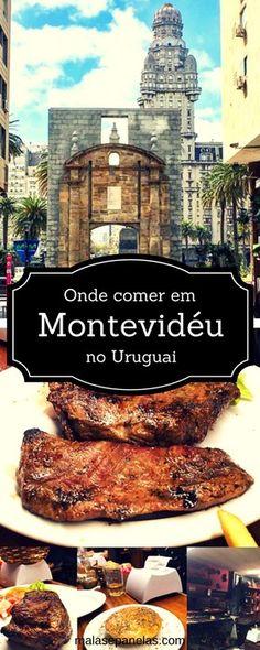 Fique por dentro dos melhores lugares para comer em Montevideo no Uruguai.