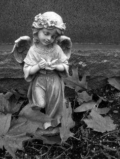 Angels – Page 12 – Gargoyles and Grotesques Angel Garden Statues, Garden Angels, David Garrett, Gardens Of Stone, Statue Tattoo, Cemetery Statues, Sculpture Techniques, Kids Canvas Art, Angel Sculpture