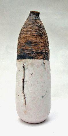 Ceramic clay art vessel by Heidi Soos - Highland Fairy. Pottery Sculpture, Pottery Vase, Ceramic Pottery, Ceramic Pots, Ceramic Clay, Earthenware, Stoneware, Keramik Design, Sculptures Céramiques