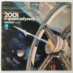 2001 A Space Odyssey Soundtrack LP Vinyl Record Album MGM