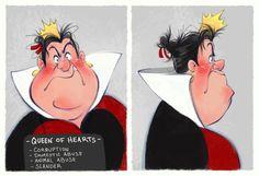 *QUEEN of HEARTS ~ Alice in Wonderland.... Villain Mugshots Queen Of Hearts | Etsy Disney Pixar, Disney E Dreamworks, Disney Memes, Disney Fan Art, Disney Villains, Disney Animation, Disney Love, Disney Characters, Disney Gone Bad