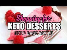 Shopping For Keto Dessert Recipes - YouTube