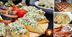 Domáca nátierka s pečivom je skvelou voľbou na pohostenie pre vašich hostí, alebo ako rýchla a chutná domáca večera či olovrant.
