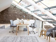 Scandinavian furniture gives new look to your office or business area.