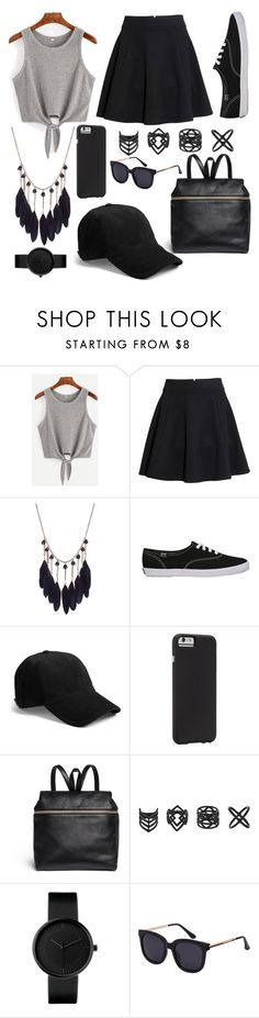 """""""Stylish Spy"""" by plum-perfect ❤ liked on Polyvore featuring H&M, rag & bone, Case-Mate, Kara and Topshop"""