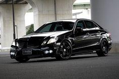 Mercedes Benz E-class W212 Sports Line Black Bison Edition