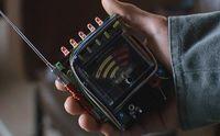 Dean and Sam use a EMF meter. (Ch. 6)