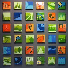 New Tile Murals From Jason Messinger Art Tile Murals, Mural Wall Art, Project Abstract, Abstract Art, Ceramic Tile Art, Glazed Ceramic, Inspiration Artistique, Mini Canvas Art, Elements Of Art