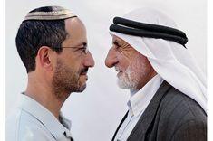 Eye to eye. Jewish Men, Muslim Men, Benetton, Brave New World, Ansel Adams, Advertising Campaign, Male Face, Shutter Speed, First World