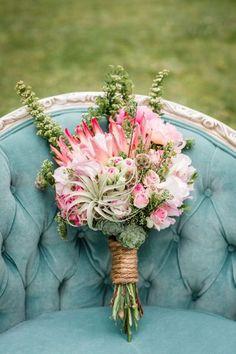 Buquê de noiva com Protea 2017: você vai se apaixonar por essas flores! Image: 5